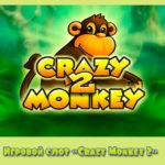 Игровой слот «Crazy Monkey 2» в казино Плей Фортуна